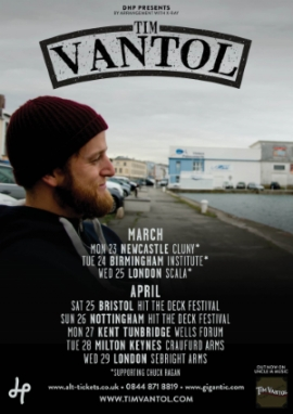 Tim Vantol featuring Rob Lynch and Katie Malco - 29th April - Sebright Arms, London