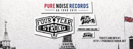 Four Year Strong Featuring Forever Came Calling and Hit The Lights - 26th March - Electric Ballroom, London